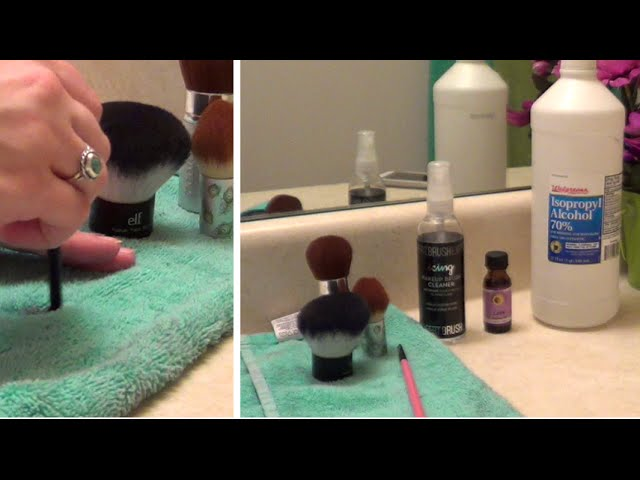 DIY Makeup Brush Spot Cleaner Spray – Super Easy – Sanitize & Clean Your Makeup Brushes