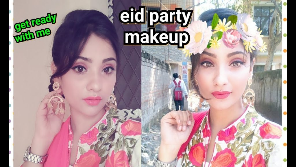 GRWM : EID party || using sigma makeup & brushes || soft & simple makeup || shy styles