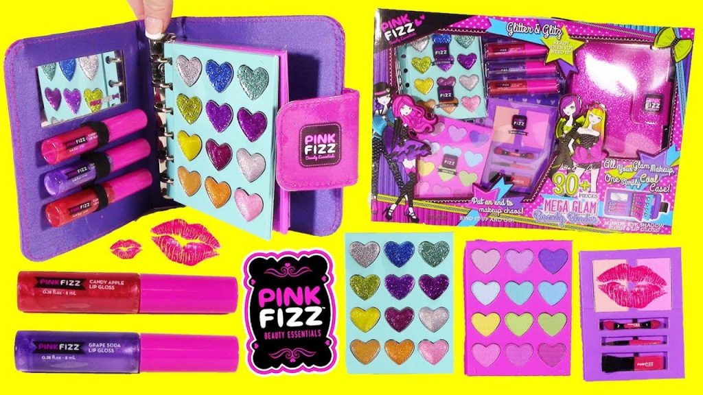 Pink Fizz Mega GLAM Beauty Set! 30 Piece Makeup Kit! Pikmi POP Surprise!
