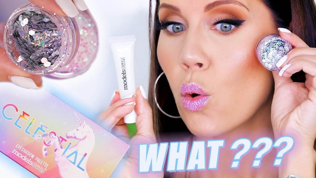 GLITTER GLUE MAKEUP … WHAT???