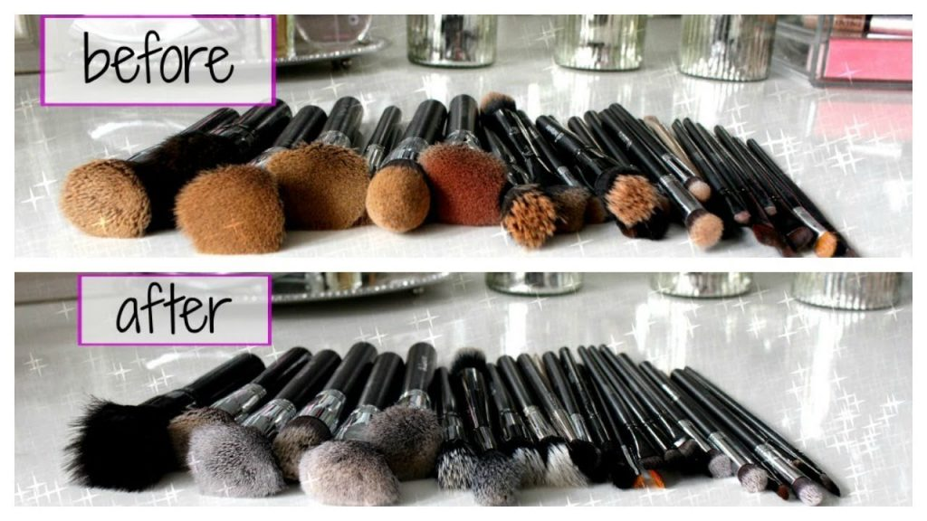 HOW TO DEEP CLEAN MAKEUP BRUSHES | DISINFECT & SANITIZE
