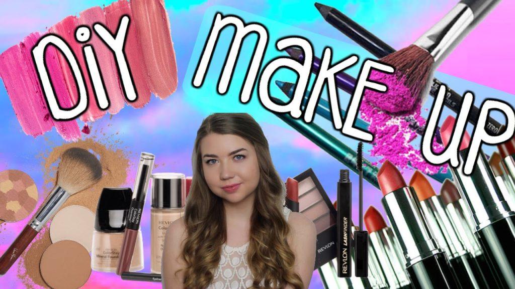 DIY MAKEUP! Diy Lipstick, Eyeliner & Blush! Pinterest Beauty Hacks Tested!