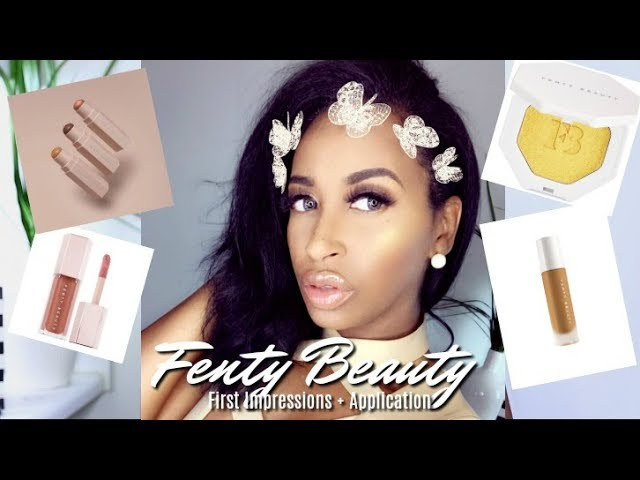 FENTY BEAUTY BY RIHANNA FULL FACE MAKEUP TUTORIAL + FIRST IMPRESSIONS