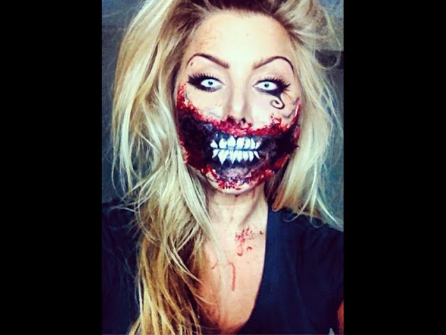 zombie alice in wonderland halloween makeup tutorial | BeeisforBeeauty