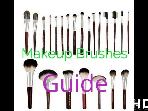 Complete Guide to Makeup Brushes – Beginning Makeup