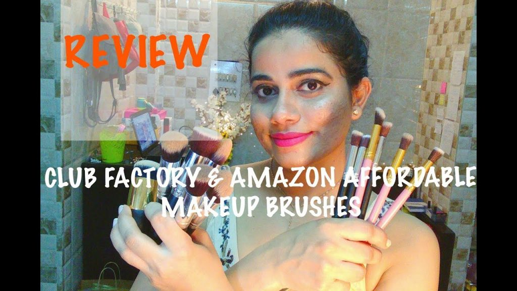 Club Factory & Amazon Affordable Makeup Brushes Review |TheLifeSheLoved|