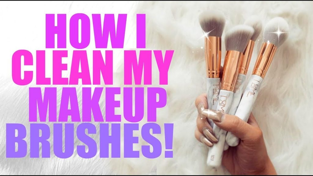 HOW TO- Clean, Sanitize & Moisturize your Makeup Brushes!! | Jade Madden