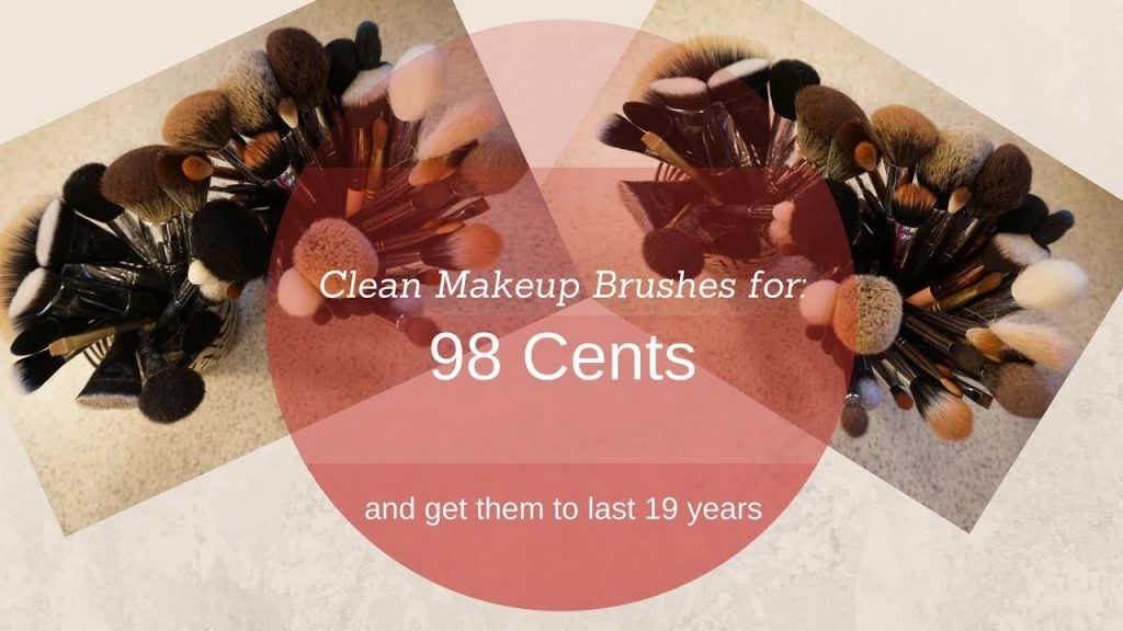 Cheap, Easy, Fast- Clean Your Makeup Brushes