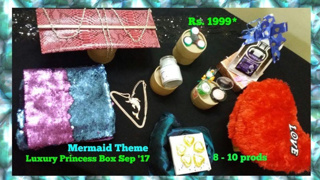 Unboxing Luxury Princess Box Sep '17 I ModaHouse Clutch I Fuschia I  just4fun.jannathff I jff