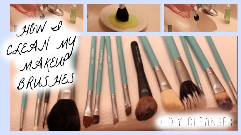 How I Clean My Makeup Brushes + DIY Brush Cleanser | Kenzie Elizabeth