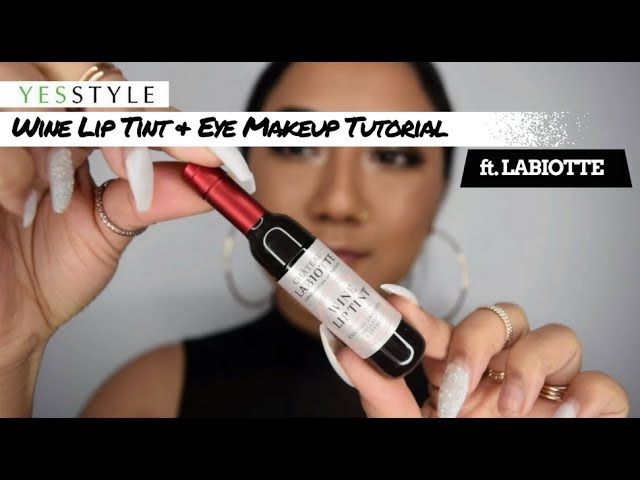 WINE MAKEUP?! LABIOTTE Wine Lip Tint & Eye Makeup Tutorial | YesStyle Korean Beauty