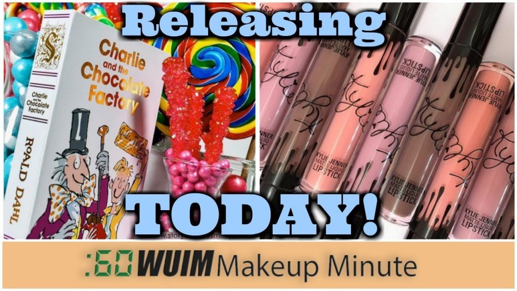 Storybook Cosmetics Charlie & The Chocolate Factory TODAY + Kylie Lip Kit Launch! | Makeup Minute