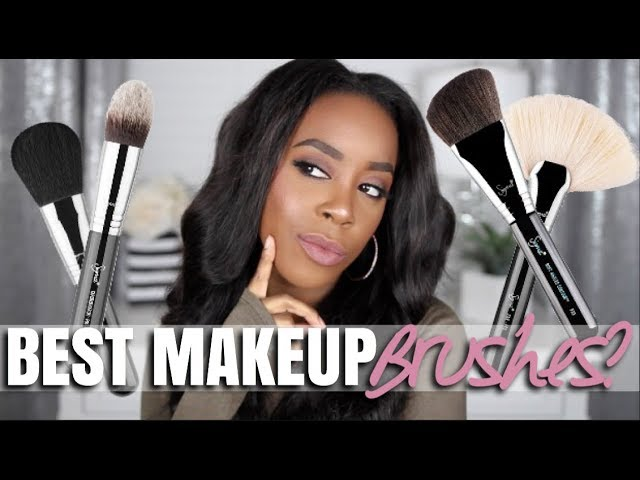 TOP 5 MAKEUP BRUSHES THAT EVERYONE NEEDS! | MY #SIGMASTAPLES | Andrea Renee