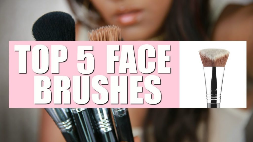 TOP 5, BEST MAKE UP BRUSHES FOR FACE | SIGMA BEAUTY