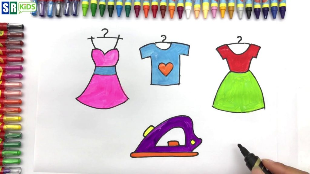 How to Draw Baby accessories and Makeup for girls Coloring Book and drawing for Kids