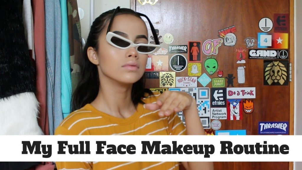 MY FULL FACE MAKEUP ROUTINE❤️