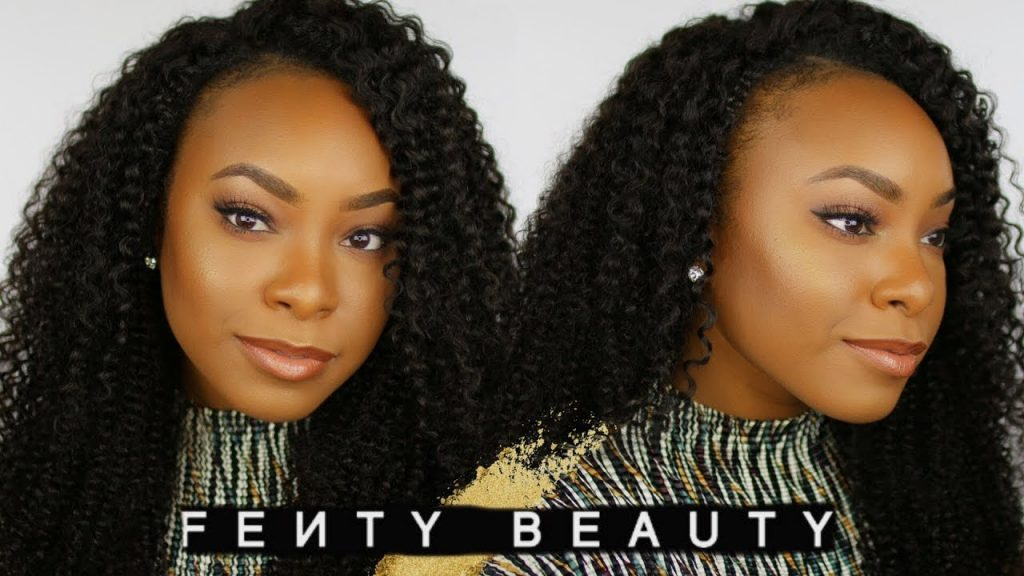 FENTY BEAUTY by Rihanna Review AND Full Face Makeup Tutorial!! | Good For Oily Skin/Large Pores?!!