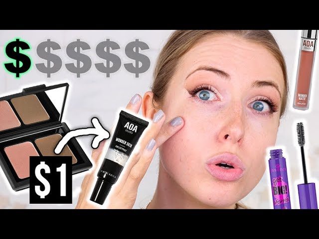 Full Face Using the CHEAPEST MAKEUP I OWN || Does It Work??
