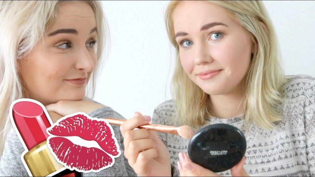 CARLIJN PROBEERT HET OOK – Make-up Face swap