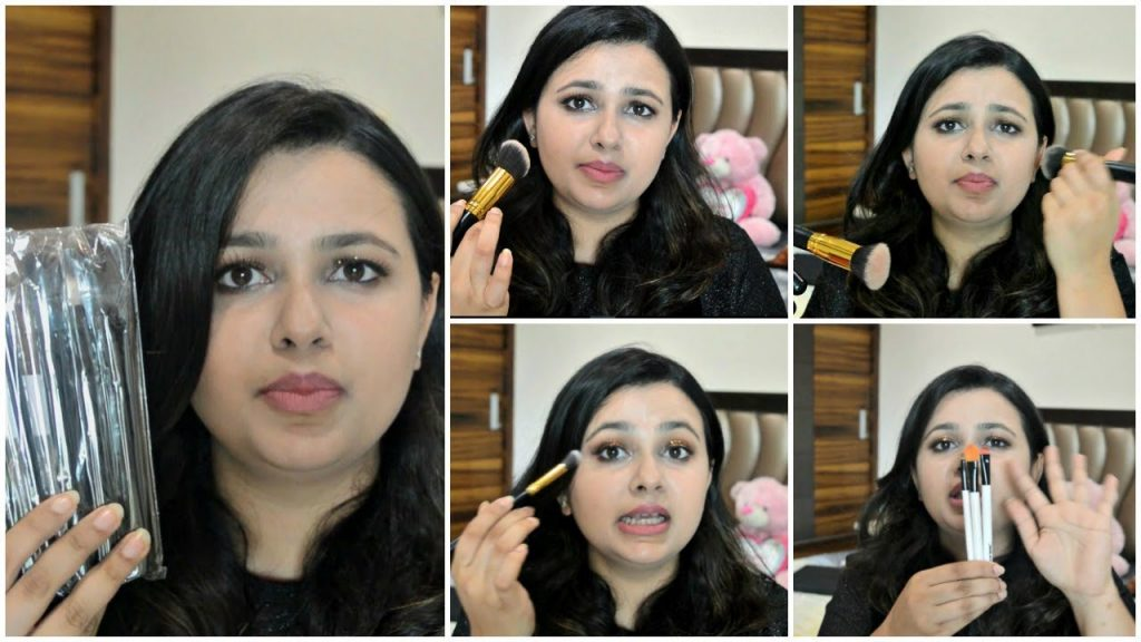 Affordable Makeup Brushes for BEGINNERS in INDIA in HINDI