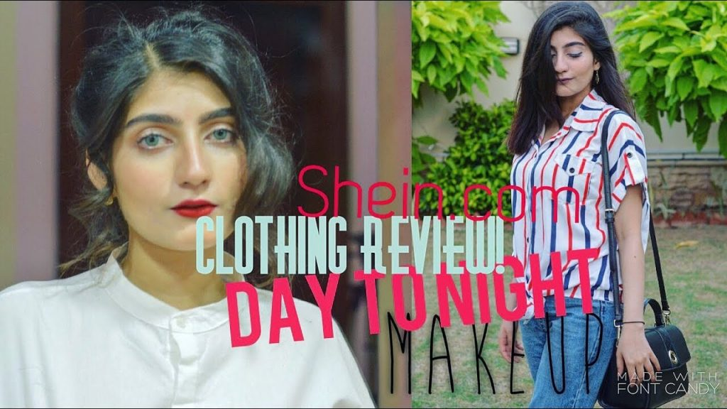 DAY TO NIGHT HAIR, MAKEUP and SHEIN.COM Clothing review| Anushae Says