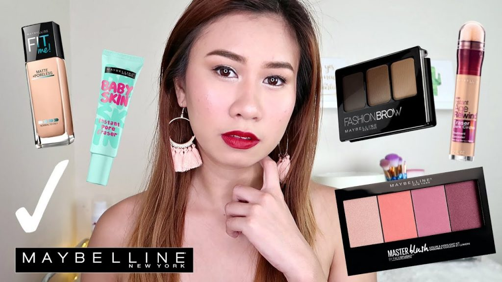 FULL FACE MAKEUP USING MAYBELLINE PRODUCTS (PHILIPPINES)