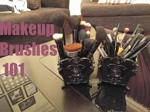 Makeup Brushes 101 فرش الميك اب واستخداماتها للمبتدئات