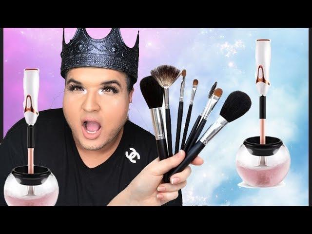 Makeup Brush Spinner Cleaner