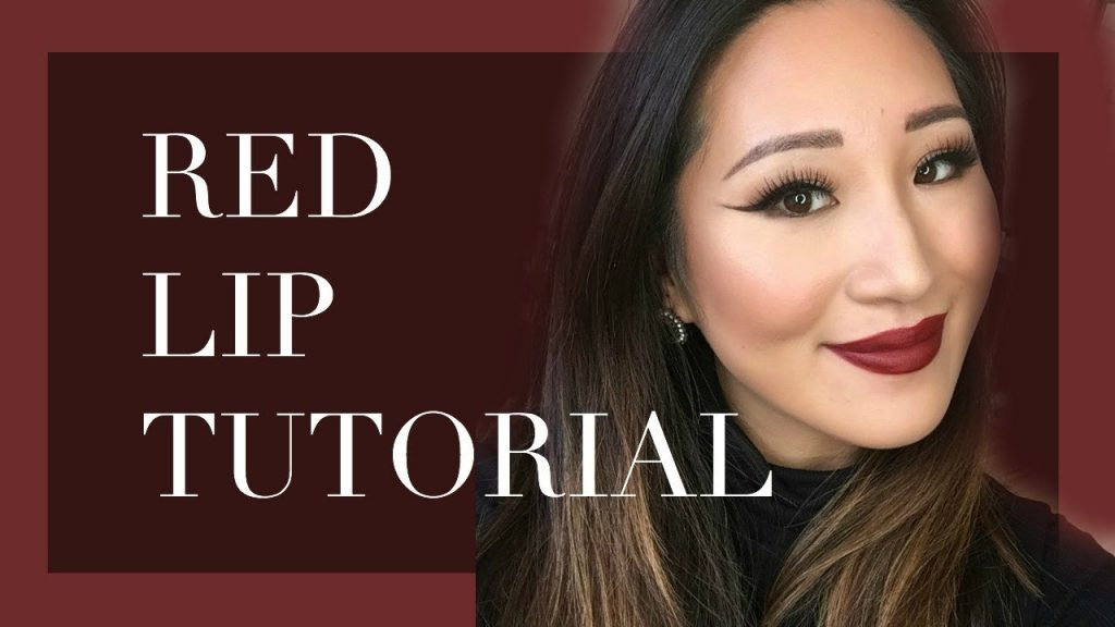 Red Lip Makeup Tutorial | Makeup for Asian Eyes