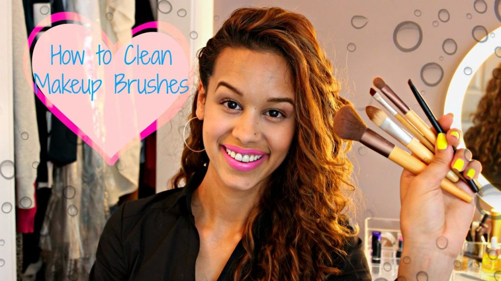 Clean Makeup Brushes with Bar Soap!