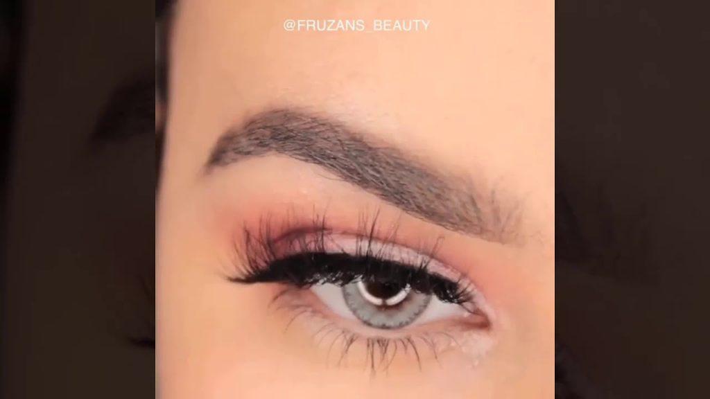 Soft Everyday Eye Makeup Tutorial   EASY Copper Glitter Smokey Eye Makeup Tutorial #4