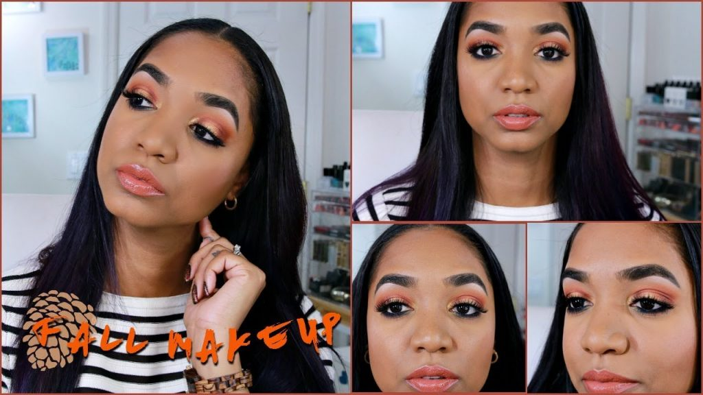 MAKEUP TUTORIAL 🍂 First Day of FALL | Warm Eyeshadows + Warm Lips 🍂