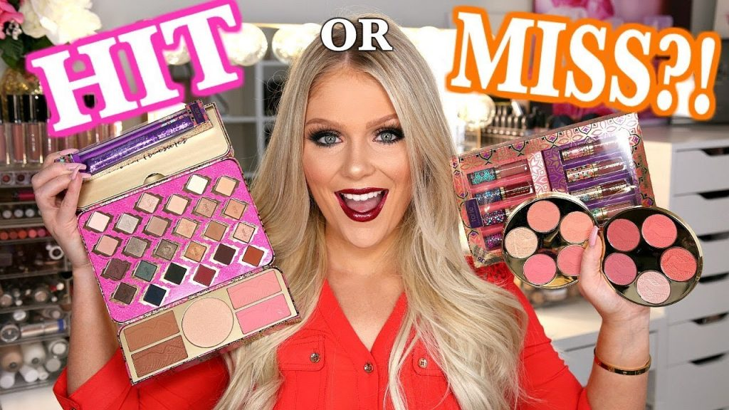TARTE HOLIDAY MAKEUP COLLECTION 2017 | FULL FACE FIRST IMPRESSIONS