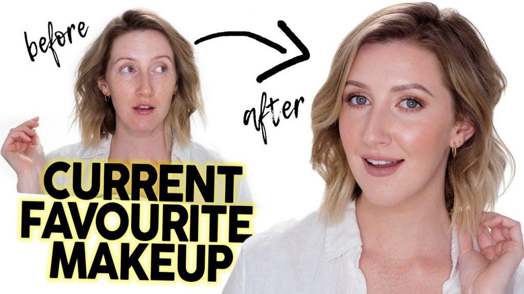 FULL FACE USING CURRENT FAVES | Makeup Tutorial September 2017 | Sharon Farrell