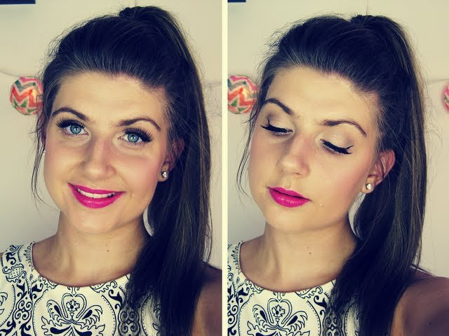 Girl About Town  ♥ Bright Lip Makeup Tutorial
