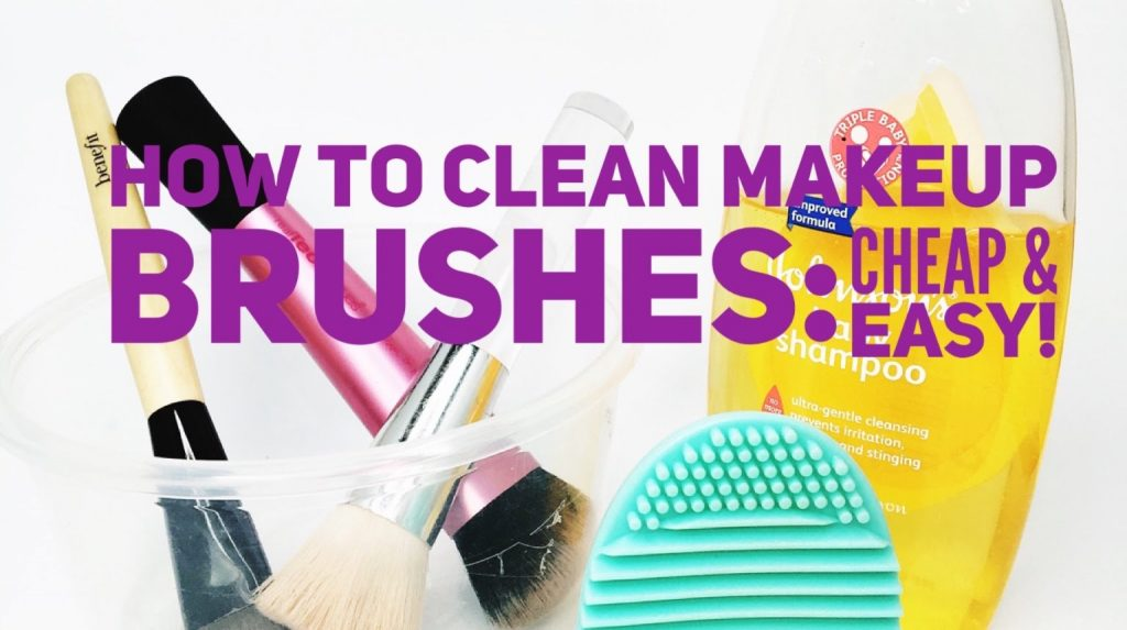 How to clean your makeup brushes (Cheap & Easy!) | Philippines
