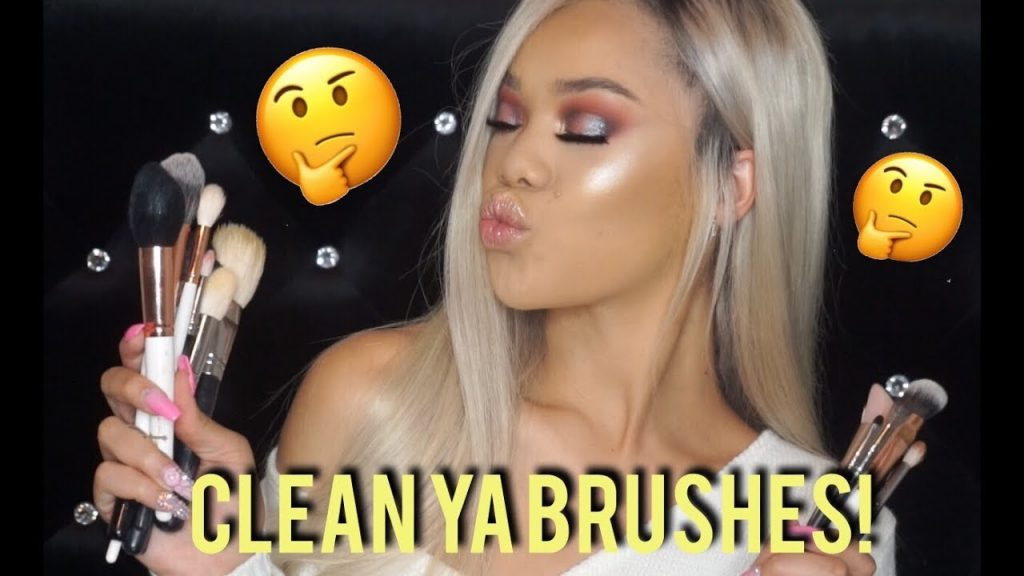AFFORDABLE & QUICK WAY TO CLEAN YOUR MAKEUP BRUSHES!