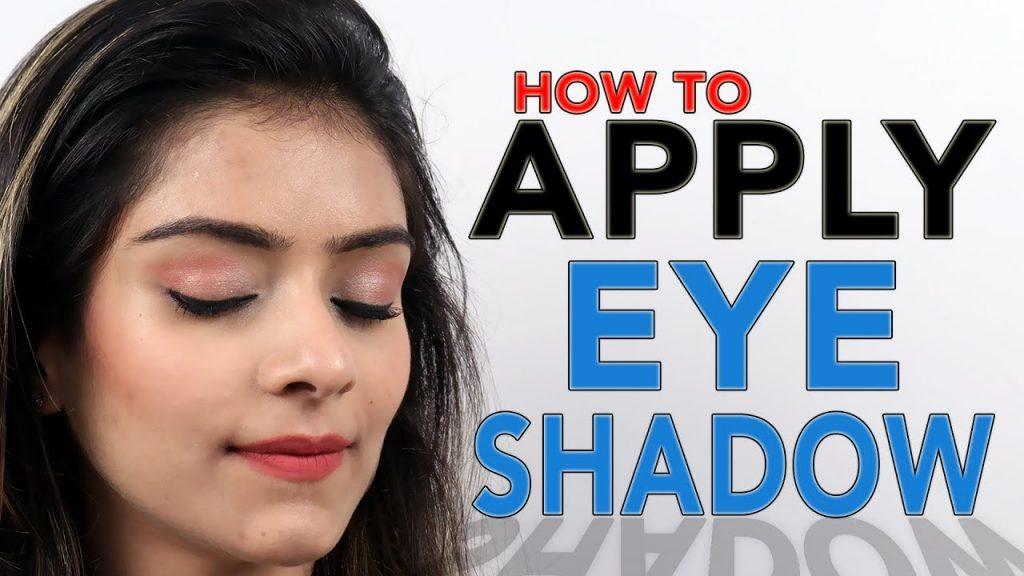 How To Apply Eye Shadow | Eye Makeup Tutorial | DIY Eye Shadow | Foxy Makeup Tutorials