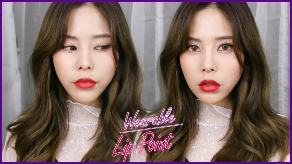 Wearable lip point makeup 💋 !  ㅣ Kyungsun 경선