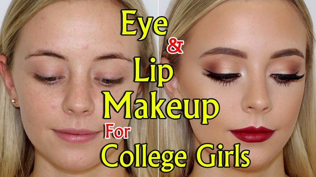 Eye & Lip Makeup for College Girls | Beauty Tips in Tamil — IBC Tamil