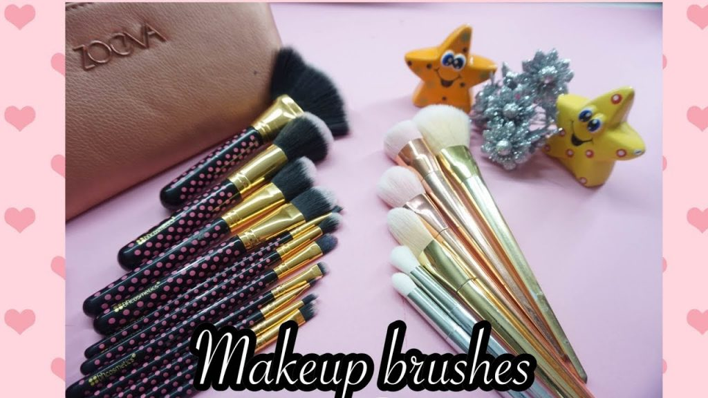 How to choose makeup brushes for beginners cheap affordable available locally/online