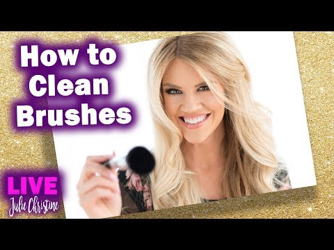 How to Clean Makeup Brushes at Home. Wash, Shampoo, Disinfect. Tutorial When & Why Real Time
