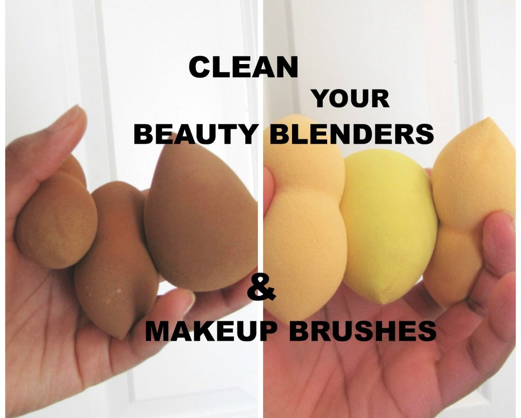 How To Clean Your Beauty Blender & Makeup Brushes
