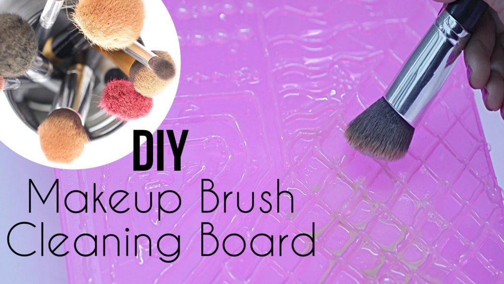 DIY : Makeup Brush Cleaning Board – Makeup Brush Cleaner