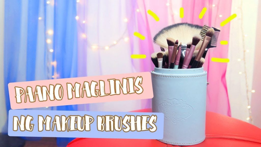 Paano Maglinis ng Makeup Brushes + Giveaway | Abbybaby