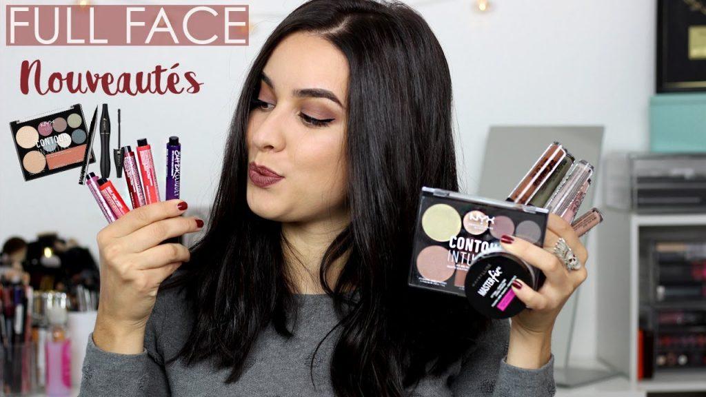 FULL FACE Je teste des nouveautés: NYX Professional makeup, Maybelline,