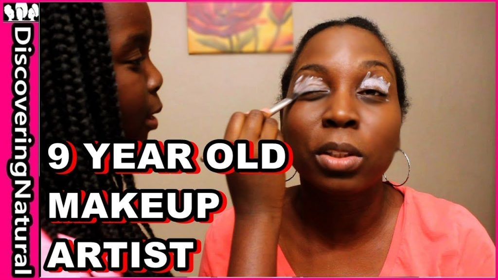 My Daughter Does My Full Face Makeup Look