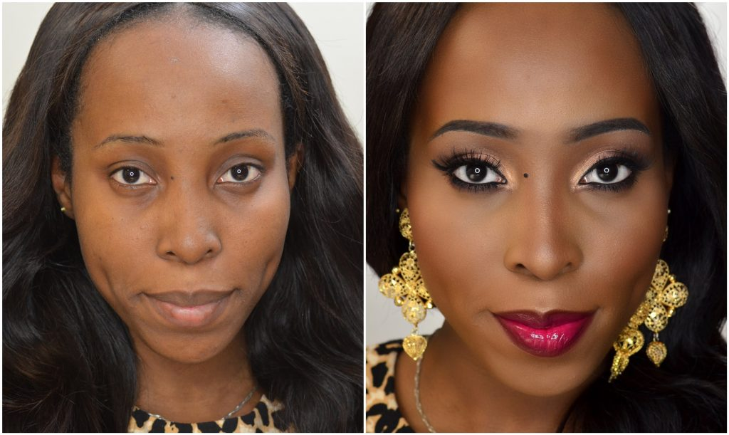 Makeup Tutorial  – My Flawless Full Face Foundation Routine for Dark Skin, Women of colour, Africans