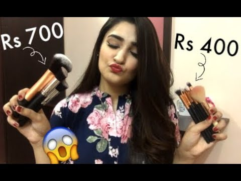 MOST AFFORDABLE MAKEUP BRUSHES IN PAKISTAN & HOW TO USE THEM
