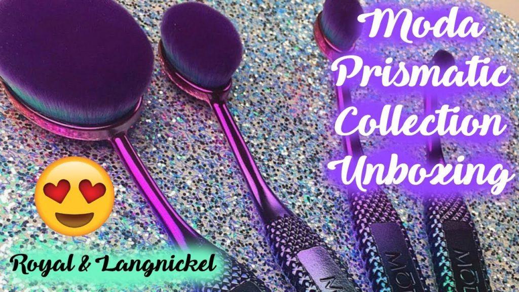 More Vegan Makeup Brushes!! MODA PRISMATIC Unboxing 😍😊 l TotalDivaRea